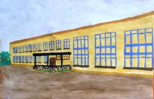Здание Плавской средней школы №2